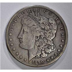 1890-CC MORGAN DOLLAR F/VF