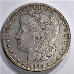 1893-O MORGAN DOLLAR VF/XF