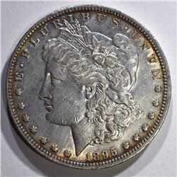 1895-O MORGAN DOLLAR XF/AU