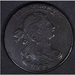 1800/79 DRAPED BUST LARGE CENT  XF