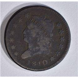 1810 LARGE CENT VG/F POROSITY