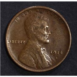 1914-S LINCOLN CENT VF