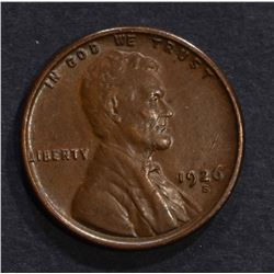 1926-S LINCOLN CENT AU, KEY DATE