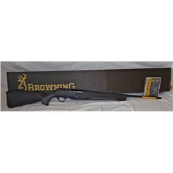 Browning BAR MK3 Stalker, .243 win, new in the box, semi-automatic, synthetic, gold trigger, SN: 311