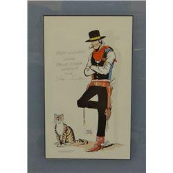 Lynde, Stan, (1931-2013) Belle Star, Hipshot, Print, 8.5x14
