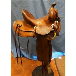 """Connelly  stock saddle 13"""", single rigged"""