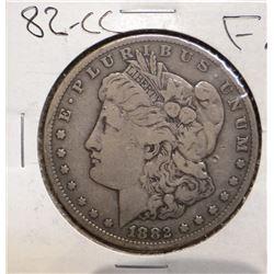 1882-CC Morgan Silver Dollar, Fine