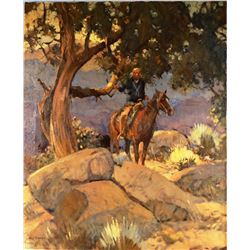 "Bodily, Sheryl, Untitled, oil on canvas, 1982, 20"" x 24"","