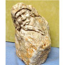 Erickson, Mountain Man, Alabaster Carving, 5x7