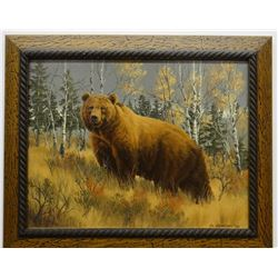 Johnson, J. H., Grizzly, 2008, Oil on canvas, 14 x 18