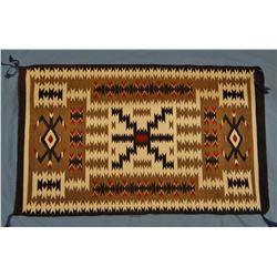 "Small  Navajo rug, 26"" x 43"""