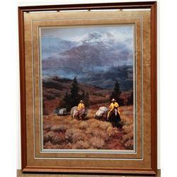 "Steve Devenyns framed print, When Friends Are Made, 18"" x 24"""