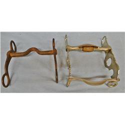 2 Unmarked iron bits