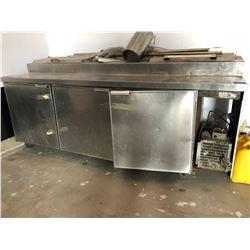 3 Drawer Stainless Steel Refrigerator Cooler - No Compressor