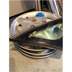 Bundle of Misc. Bathtub Rods/Rakes/Shovels/Edger/Tree Trimmer/Set of 4 Nissan Hub Caps/4 Wiper Blade