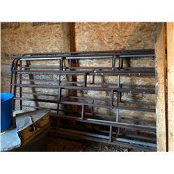 4 Cattle Panels Plus Bundle of Misc. Wood (Posts & 2x4s)