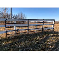 Belen Country 16' Metal Gate