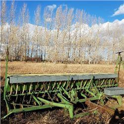 "John Deere - Van Brunt 12' Grain Press Drill - Model ""LL"""