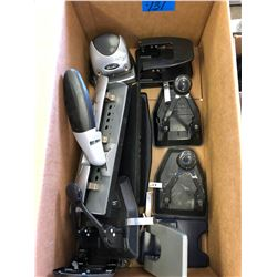4 Boxes Office Paper (new)/Paper Hole Punches/2 Calculators/CDs/Staplers/Office Desk Organizers