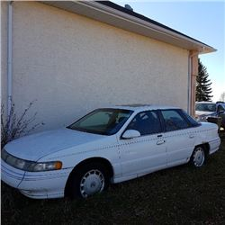 1994 Mercury Sable 4 Door White SN#1MELM534XRG600931