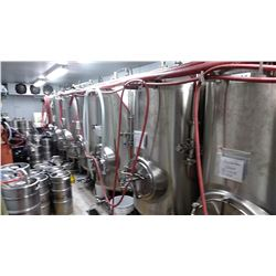2 STONE CHURCH: COMPLETE BREWERY PROCESSING / MFG SYSTEM