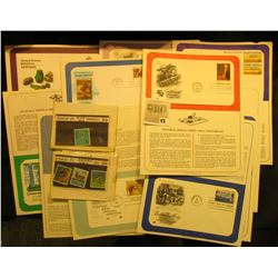 (13) 1970 era Stamped First Day Covers with literature; Ryukyu Islands #140-42, & 158 Stamps. All Mi