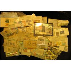 Large Group of Foreign Stamps in glassine envelopes all attributed. Originally catalogued at over $1