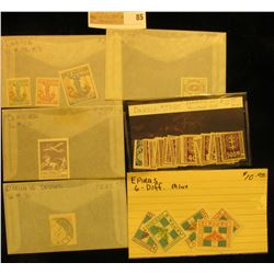Groups of high value Foreign Stamps including: Danzig #J1-25 Complete Set Postage Due, all Mint ; De