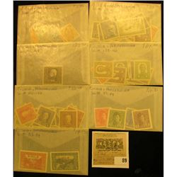 Group of higher value Bosnia  & Herzegovina Stamps. All attributed and priced to sell at over $250.0