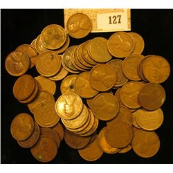 (65) U.S. Wheat Cents all dating prior to 1940.
