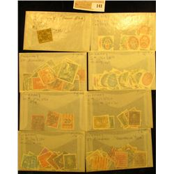 Group of higher value World Stamps. All attributed and priced to sell at over $500.00.