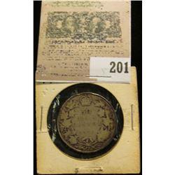 1913 Canada Silver Half Dollar.