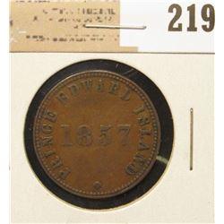 1857 Prince Edward Islands Token.