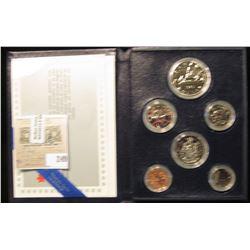 1985 Royal Canadian Mint Annual Specimen Set.