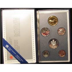 1989 Royal Canadian Mint Annual Specimen Set.