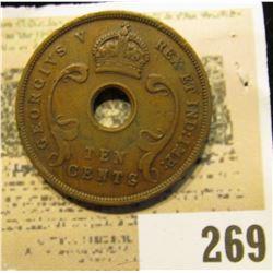 1936 East Africa 10c.