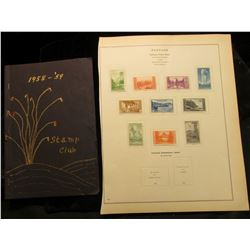 1958-'59 Ocotillo Stamp Club Yuma, Arizona Meeting Place Program; & a set of National Parks Issue (1