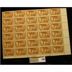 "Block of Thirty mint Scott # 759 ""Mesa Verde"" 4c Stamps, mint, OG, NH."