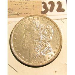 1882 O Morgan Silver Dollar, BU.