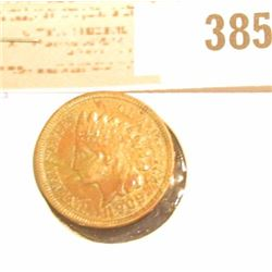 1909 S Indian Head Cent, Super Key date with full Liberty.