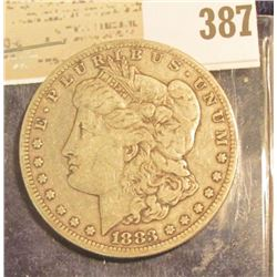 1883 CC Morgan Silver Dollar. Nice Key date.
