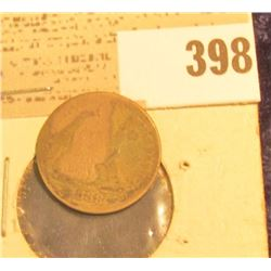 1888  U.S. Seated Liberty Dime.