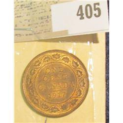 1917 Canada Large Penny, EF.