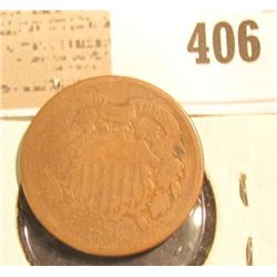 1865 U.S. Two Cent Piece.