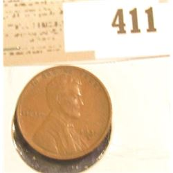 1931 D Lincoln Cent, EF.