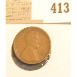 1924 D Lincoln Cent, Fine.