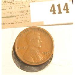 1926 S Lincoln Cent, Fine.
