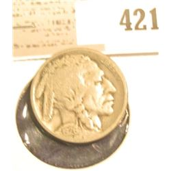 1926 S Buffalo Nickel, VG, scarce Semi-key date.