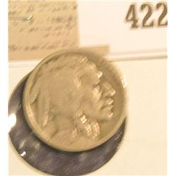 1924 D Buffalo Nickel, Good, scarce Semi-key date.