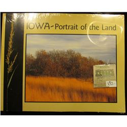 """Iowa-Portrait of the Land"", issued by the Iowa Department of Natural Resources, 89 pgs. Like new in"